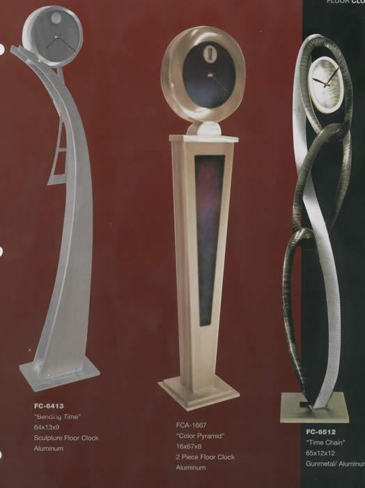 28 Floor Modern Clock Standing